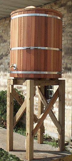 Custom Rain Barrels | Rain Barrel Water Storage Tanks