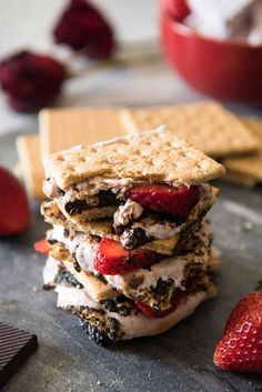 Strawberry S'mores #