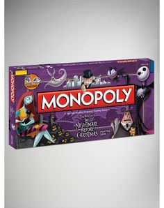 Party points to ME! I just found the 'Nightmare Before Christmas' Monopoly Game from Spencer's. Visit their mobile website to get this item and more like it.