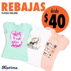 El mejor estilo para el verano. #Optima #NiñaOptima #Rebajas