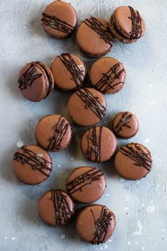 Chocolate Brownie Macarons | Jam Lab