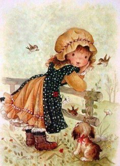 gifs et tubes sarah kay - Page 7 Holly Hobbie, Images Vintage, Vintage Cards, Vintage Postcards, Hobbies For Men, Fun Hobbies, Cheap Hobbies, Hobby Horse, Cute Illustration
