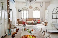 Spanish photographer Manolo Yllera's eclectic vintage home.