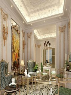 Find This Pin And More On French Decor Classic Luxury Interior Design