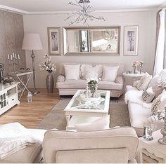 Ikea Living Room, Glam Living Room, Living Room Decor Cozy, Living Room White, Beautiful Living Rooms, Home Design Decor, Luxury Home Decor, Interior Design, Living Room Inspiration