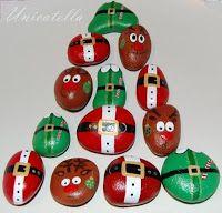 Ho Ho Ho - świąteczne kamienie