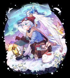 メディアツイート: 【公式】メルクストーリア(@merc_storia)さん | Twitter Anime Angel, Ange Anime, Anime Art, Game Character Design, Character Design Inspiration, Character Art, Anime Figures, Anime Characters, Dnd Art