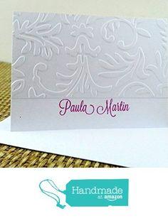Embossed card Set from Mis Creaciones by Patricia Chalas http://www.amazon.com/dp/B016768IIQ/ref=hnd_sw_r_pi_dp_2Gxowb0VTCSX1 #handmadeatamazon