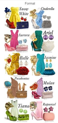 Formal Disney princess outfit: outfits : cute dress