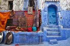 Private Full-Day Trip to Chefchaouen from Tangier Explore the blue city of Chefchaouen on this private excursion from Tangier, and see its well-preserved Arab-Andalusia art and traditions. Chaouen, or Chefchaouen as in Berber language, is one of the most beautiful towns of the Rif mountains. It is the last rampart before the Mediterranean and the Iberian Peninsula.You will be picked up from Tangier's port or from your hotel or closest pick-up point in Tangier and taken in an a...