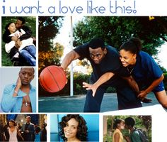 """""""Love and Basketball ♥""""  middle school sweethearts are rare to end up together and I am blessed to be one of them. This movie shares that love!"""