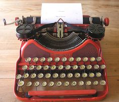 Beautiful Corona Typewriter