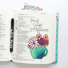 Bible Journaling by Stones & Sparrows @stonesandsparrows