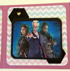 Dr WHO 12 Tardis OOAK Handmade Card by OtherworldlyCards on Etsy