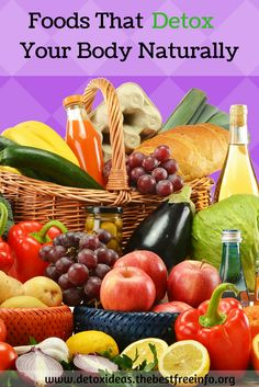 Do you want to find the best foods that detox your body naturally?  Find out by clicking the image.
