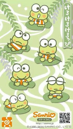 Keroppi Wallpaper