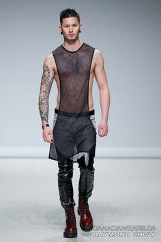 Stevo Trann walks for Diodati by Luca Galardo