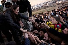 """Welcome To """"The Low Down On- Heart-Warming"""" Blog: Angelina takes on ISIS calls on world leaders to e..."""