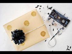 DIY: Pom Poms from VHS & Cassette Tapes