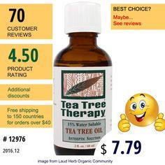 Tea Tree Therapy #TeaTreeTherapy #BathBeauty #TeaTreeOil