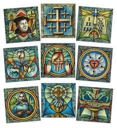 Artwork from Luther's Small Catechism