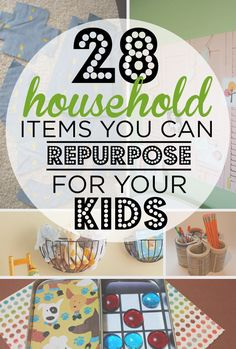 28 Household Items You Can Repurpose For Your Kids
