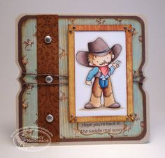Back in the saddle by TracyMac - Cards and Paper Crafts at Splitcoaststampers