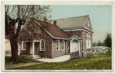 Old Dunkard Church, Church of the Brethren, Germantown, Pennsylvania, USA, circa 1900s