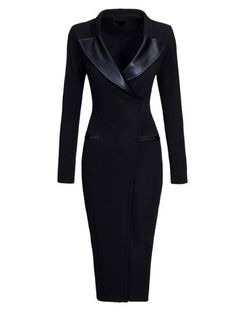 Gross Weight/Package: 0.50( kg ) Material: Polyester Silhouette: Bodycon Dress Length: Knee-Length Sleeve Length: Long Sleeve Sleeve Type: Regular Neckline: V-Neck Combination Type: Single Closure: Pullover Pattern: Plain Style: Wear to Work Season: Spring,Fall Size: M: Dress Length: 102cm / 40.2inch; Bust: 90cm / 35.4inch; Waist: 70cm / 27.6inch; L: Dress Length: 103cm / 40.6inch; Bust: 94cm / 37.0inch; Waist: 74cm / 29.1inch; XL: Dress Length: 104cm / 40.9inch; Bust: 98cm / 38.6inch…