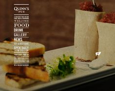 Check out Quinn's Pub's dramatic new site, courtesy of CMA Website Design Services. CMA offers a broad spectrum of marketing solutions—from social media to video production—but website development has always been close to our heart. Contact us today and learn more about upgrading your site and marketing with Creative Media Alliance.