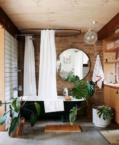 70+ Modern Rustic Farmhouse Style Master Bathroom Inspirations