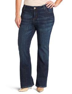 Lee Women`s Plus-Size Slender Secret Joplin Barely Bootcut Jean $34.90
