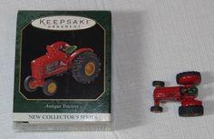 HALLMARK Keepsake Ornament 1997 Antique Tractors New Collectors Series Miniature