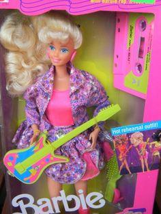 disco jeans barbie. had her & christie