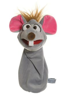 Bille the mouse. The grey female mouse with pink ears is in love with Mampfred, but she's too shy to tell him. Playable mouth.