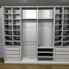 Sem imagem Decor, House Design, Wardrobe Design Bedroom, Bedroom Design, Bedroom Furniture, Bedroom Inspirations, Closet, Closet Decor, Sliding Closet Doors