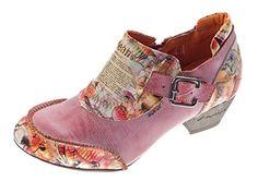 TMA Leder Damen Pumps Echtleder Comfort Schuhe TMA 6166 Halbschuhe Boots Rot Gr. 39 - http://on-line-kaufen.de/tma/39-eu-tma-leder-damen-pumps-viele-farben-echtleder-2