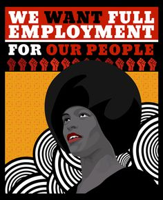 """Black Panthers 02 """"We want full employment for our people""""  #creative #design #designer #graphic #art #graphicart #artgraphic #graphicdesign #graphicdesigner #illustration #print #poster #peace #quote #type #typography #vectors #vectorz #vector #apartheid #mandela #nelsonmandela #blackpower"""