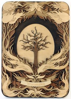 Gabriel Schama laser cut wood design[700  971] Sep 7 2014