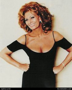 """Sophia Loren // Academy Award winning Italian actress and Author. One of the most glamorous women of all time...at any age. Loved her in """"Grumpier Old Men"""""""