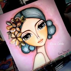 Art Sketches, Art Drawings, Afrique Art, Frida Art, Arte Popular, Pastel Art, Eye Art, Whimsical Art, Portrait Art