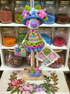 Knitted Dolls, Beautiful Crochet, Amigurumi Doll, Crochet Projects, Country, Knitting, Desserts, Inspiration, Baby Dolls