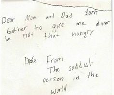 Super Hilariously Honest Notes From Kids - 8