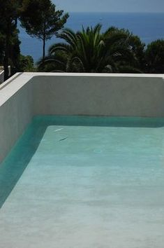 Tadelakt swimming pool