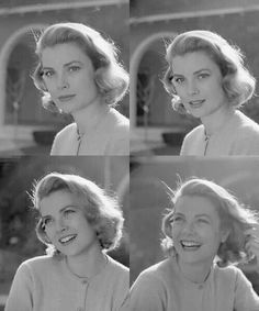 Grace Kelly /// Love how alive she is in this series--not just the statue but the woman and what it would be like to make her laugh--AC