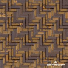 """Ready to use texture of the Wienerberger clay paver """"Zonnebloem wasserstrich DF"""" laid in the ellbow bond. Get yours on our Dutch website. Clay Pavers, Dutch, You Got This, Bond, Texture, Website, Rainwater Harvesting, Lawn And Garden, Ideas"""