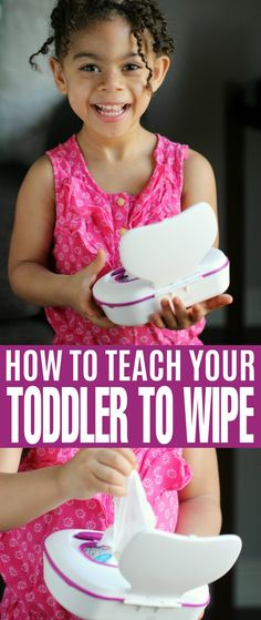 How To Teach Your Toddler to Wipe - an important part of potty training that will set healthy habits for life!