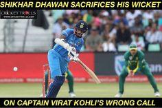 Shikhar Dhawan was in good touch today! #SAvIND #1stODI - facebook.com/MyCricketTrolls