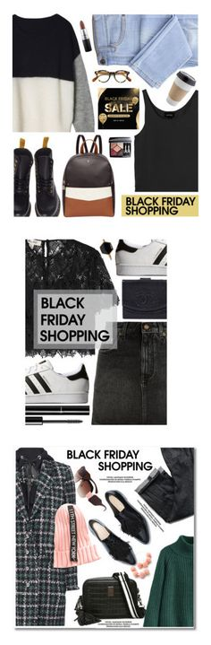"""""""Winners for Steal Those Deals: Black Friday"""" by polyvore ❤ liked on Polyvore featuring Dr. Martens, Oliver Peoples, Monki, Fiorelli, MAC Cosmetics, Christian Dior, Diane Von Furstenberg, adidas Originals, Isabel Marant and Chanel"""