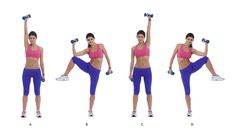 elbow-to-knee-with-dumbbell